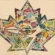 Toronto Blue Jays Poster Art Art Print