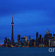 Toronto Blues... Art Print