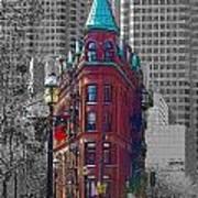 Toronto Flat Iron Building Version 2 Art Print