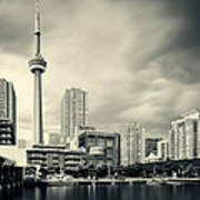 Toronto Harbourfront Art Print