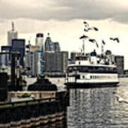 Toronto Island Ferry Art Print