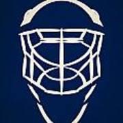 Toronto Maple Leafs Goalie Mask Art Print