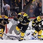 Toronto Maple Leafs V Boston Bruins - Art Print