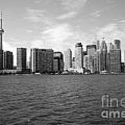 Toronto On Skyline Art Print