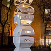 Toronto Sculpture Garden  7d01024 Art Print