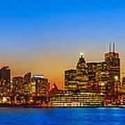 Toronto Skyline Panorama Art Print