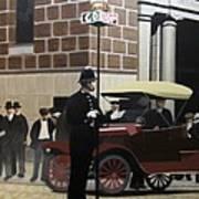 Toronto Traffic Cop 1912 Art Print