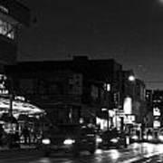 Toronto's China Town After Sunset Art Print