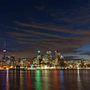 Toronto's Dazzling Skyline  Art Print