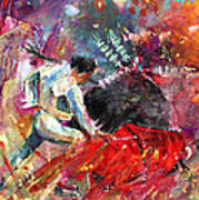 Toroscape 11 Art Print