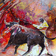Toroscape 47 Art Print by Miki De Goodaboom