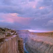 Toroweap Overlook Grand Canyon Nparizona Art Print