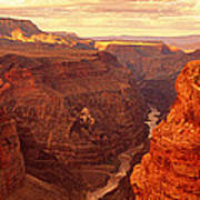 Toroweap Point, Grand Canyon, Arizona Art Print