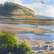 Torrey Pines Inlet Art Print