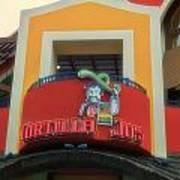 Tortilla Jos Signage Downtown Disneyland Art Print