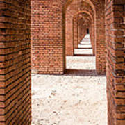 Tortugas Infinite Walkway Art Print