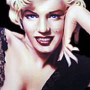 Totally Marilyn Art Print