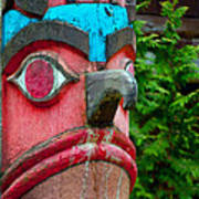 Totem Face Art Print