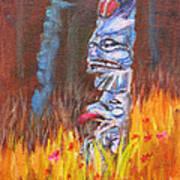 Totems Of Haida Gwaii Art Print