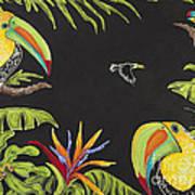 Toucan Fun Art Print by Nickie Bradley