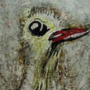 Tough Ol Bird Art Print
