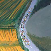 Tour De France 2 Art Print