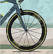Tour Down Under Bike Race Art Print by Andy Scullion