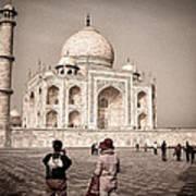 Touring The Taj Art Print