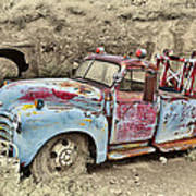Tow Truck Art Print by Robert Jensen
