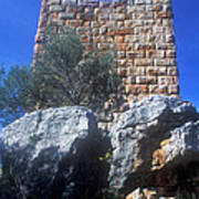 Tower At Aegosthena Art Print