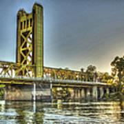 Tower  Bridge 2 Sacramento Art Print