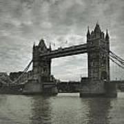 Tower Bridge In London Over The Thames Art Print
