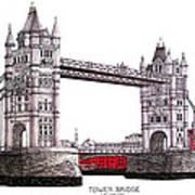 Tower Bridge - London Art Print
