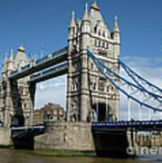 Tower Bridge London Print by Heidi Hermes