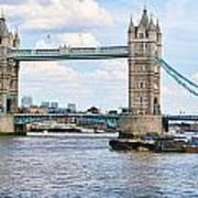 Tower Bridge Panorama Art Print