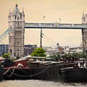 Tower Bridge Art Print by Stephen Norris