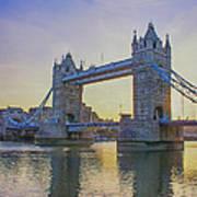 Tower Bridge Sunrise Art Print