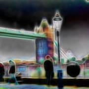 Tower Bridge Surrealism Art Print