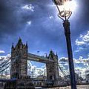 Tower Bridge View Art Print