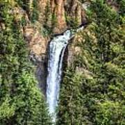 Tower Falls Yellowstone National Park Art Print