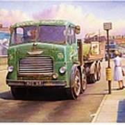 Tower Hill Transport. Art Print