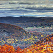 Tower In The Distance Art Print