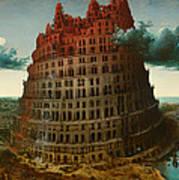 Tower Of Bable Art Print
