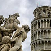 Tower Of Pisa Art Print