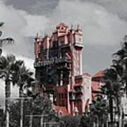Tower Of Terror  In Color Art Print
