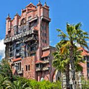 Tower Of Terror Art Print by Thomas Woolworth