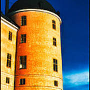 Tower Of Uppsala Castle - Sweden Art Print by David Hill
