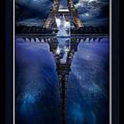 Tower Reflexion Art Print