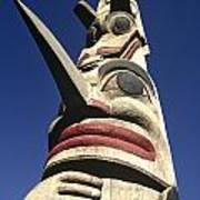 Towering Totem Art Print