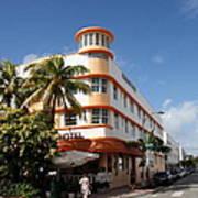 Towers Hotel - Miami Art Print